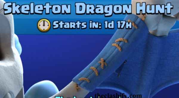 Skeleton Dragon Hunt Challenge