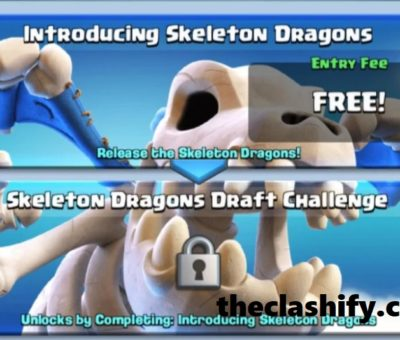 Clash Royale Skeleton Dragons Draft Challenge Tips