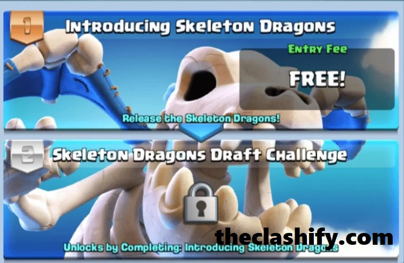 Clash Royale Skeleton Dragons Draft Challenge Tips