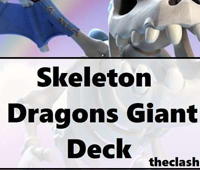 Skeleton Dragons Giant Deck
