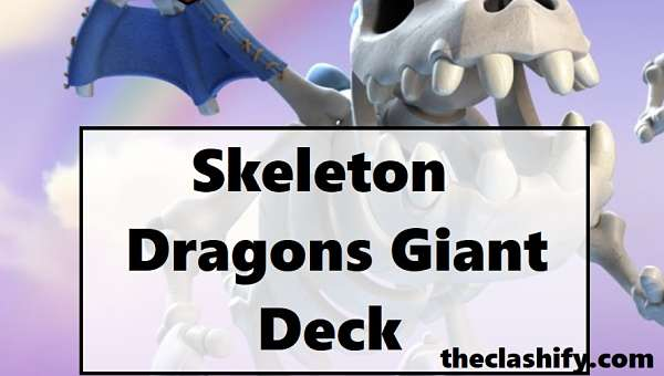 Skeleton Dragons Giant Deck