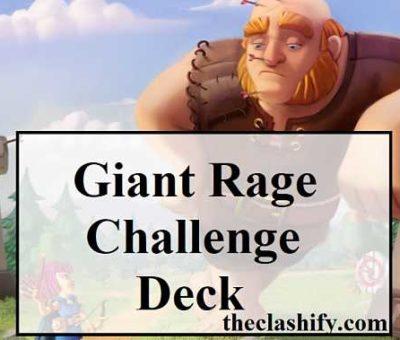 Giant Rage Challenge Deck 2020