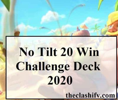 No Tilt 20 Win Challenge Deck 2020