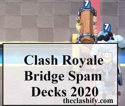 Clash Royale Bridge Spam Challenge Decks ( Master the Deck )