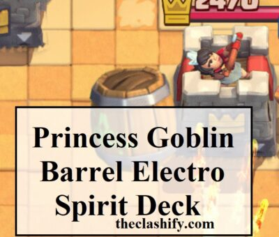 Goblin Barrel Electro Spirit Deck