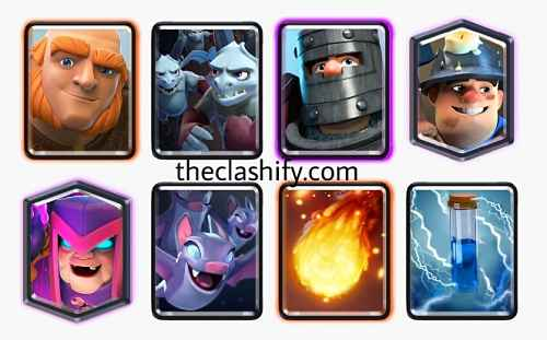 Giant best mother witch decks clash royale