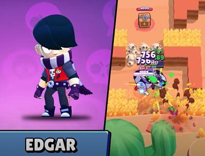 best brawl stars Edgar tips & tricks to win more games in Brawl Stars, also we will about Gadget, Edgar Star Power & Edgar Skins,