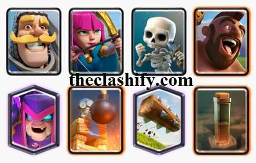Earthquake Hog Mother Witch Deck