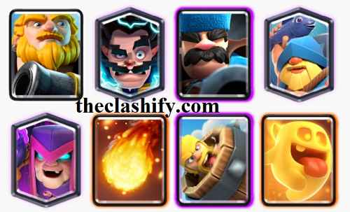 Best Mother Witch  Royal Giant Deck 2021