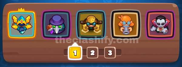 Rush Royale Deck for Arena 10