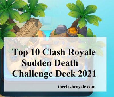 Sudden Death Challenge Deck 2021