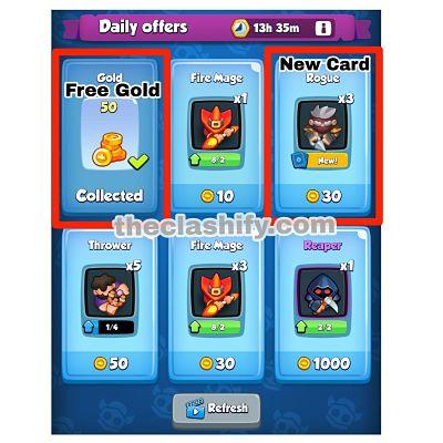 Free Rewards in rush royale