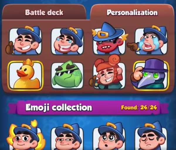 Rush Royale Emoji 2021