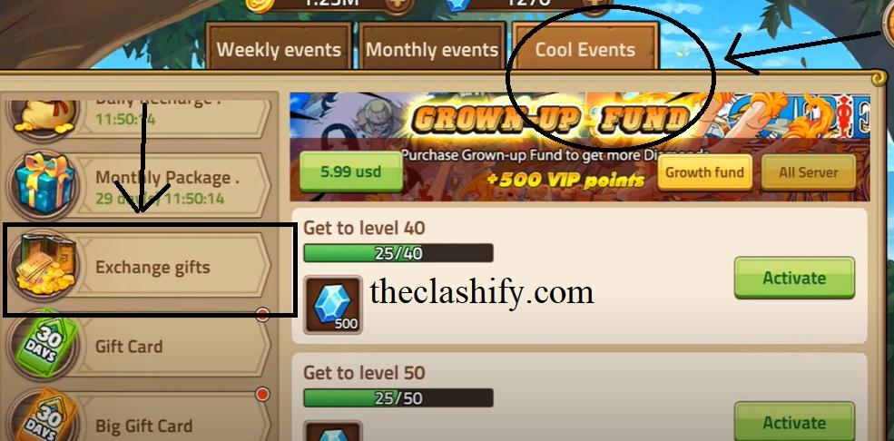 How to Redeem Epic Treasure Gift Code