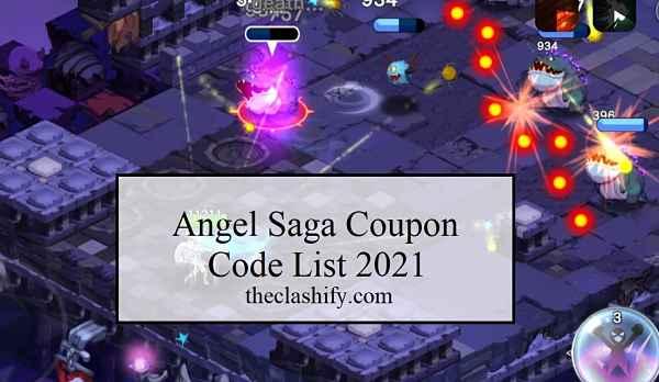 Angel Saga Coupon Code List 2021