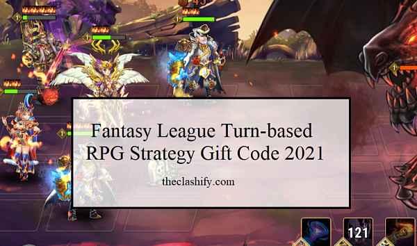 Fantasy League Turn-based RPG Strategy Gift Code 2021