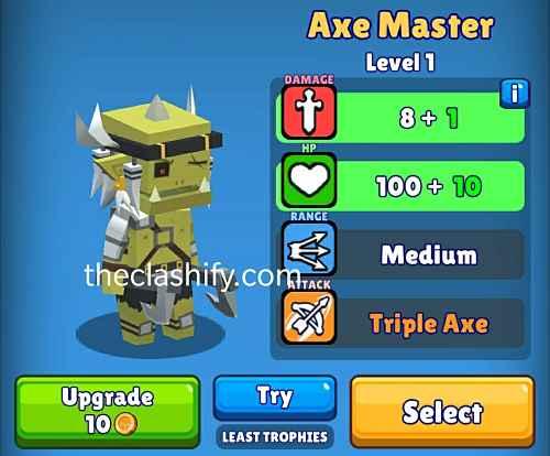 Hunt Royale Axe Master Best Hunter