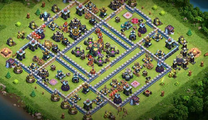 Th14 War Base 2 Anti 1 star
