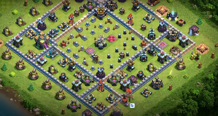 Best TH 14 Base Layout for War