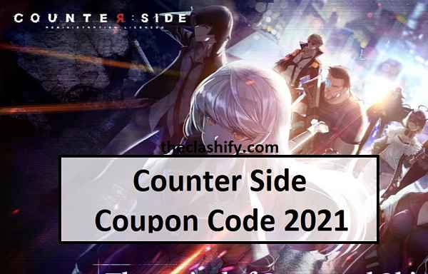 Counter Side Coupon Code 2021