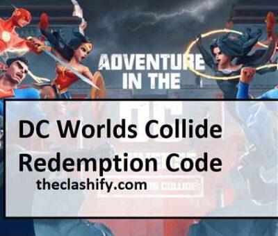 DC Worlds Collide Redemption Code