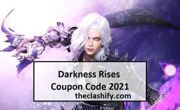 Darkness Rises Coupon Code 2021