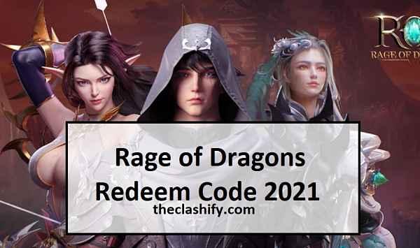 Rage of Dragons Redeem Code 2021
