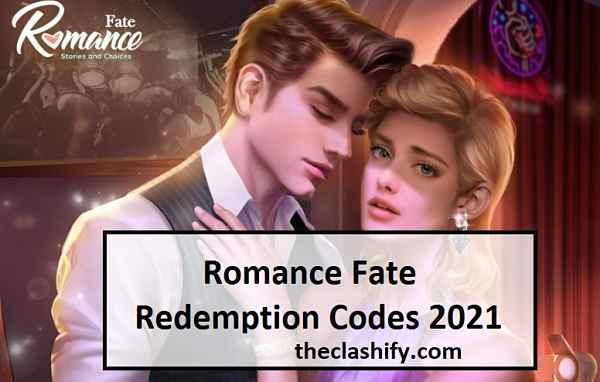 Romance Fate Redemption Codes 2021