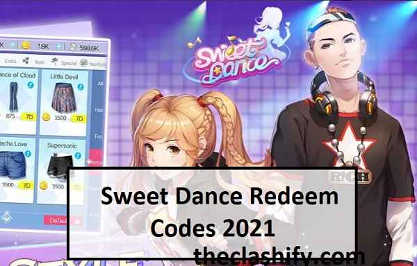 Sweet Dance Redeem Codes 2021