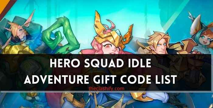 Hero Squad Idle Adventure Gift Code List