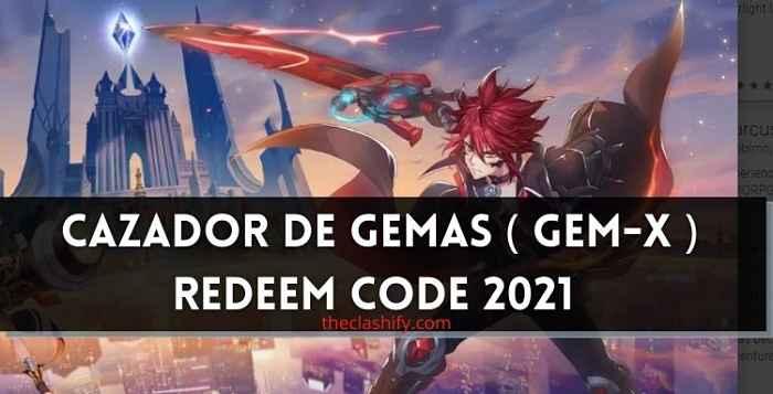 Cazador de Gemas Redeem Codes