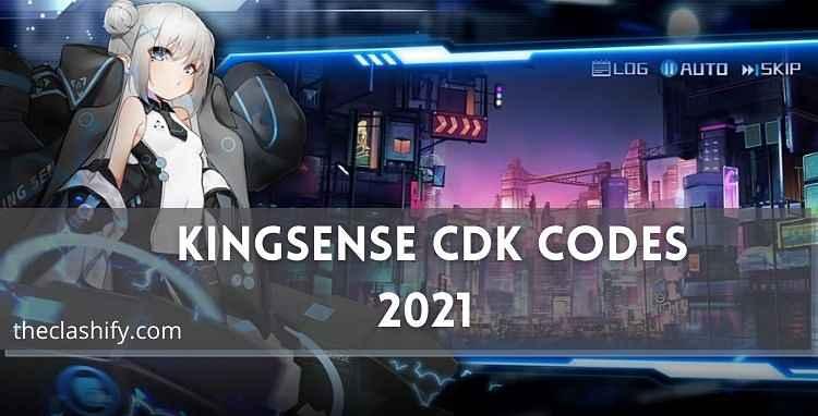 Kingsense CDK Codes 2021 Kingsense Redeem Code