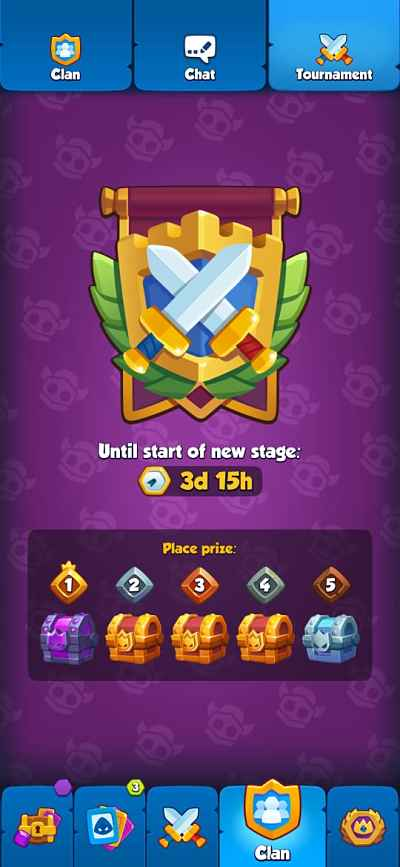 Rush Royale Tournament Rewards