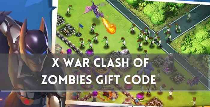 X War Clash of Zombies Gift Code 2021