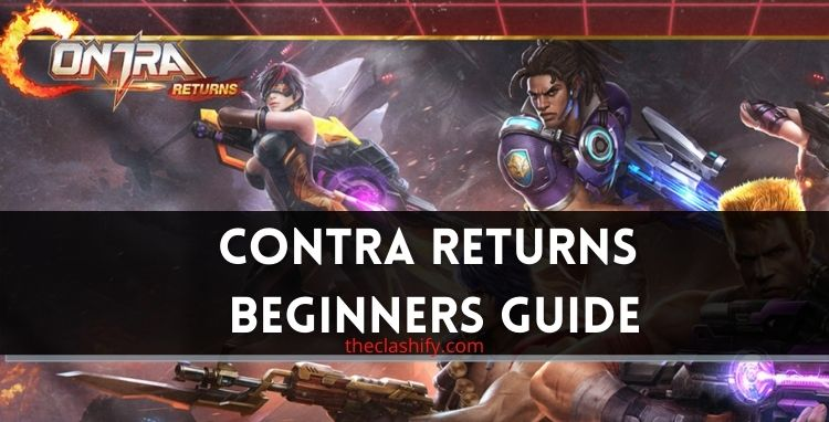 Contra Return Weapon Guide ( How to Unlock Guns )