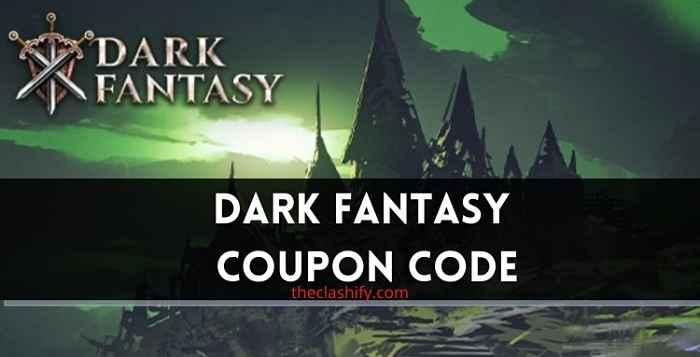Dark Fantasy Coupon Code