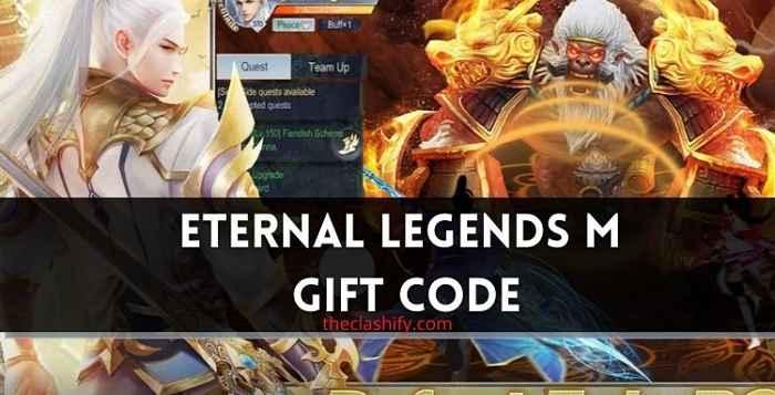 Eternal Legends M Gift Code 2021