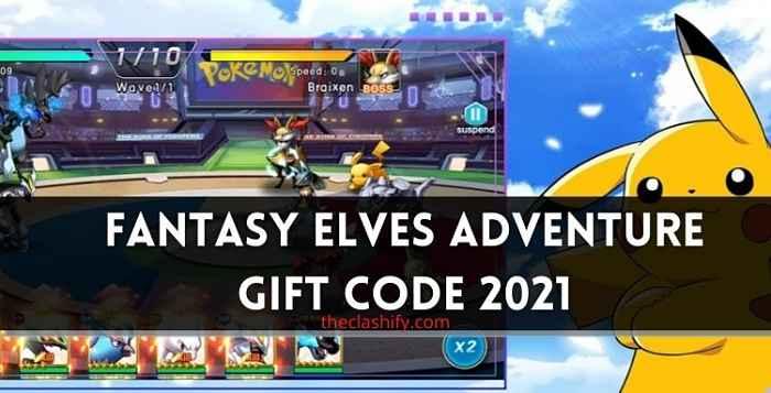 Fantasy Elves Adventure Gift Code 2021 July