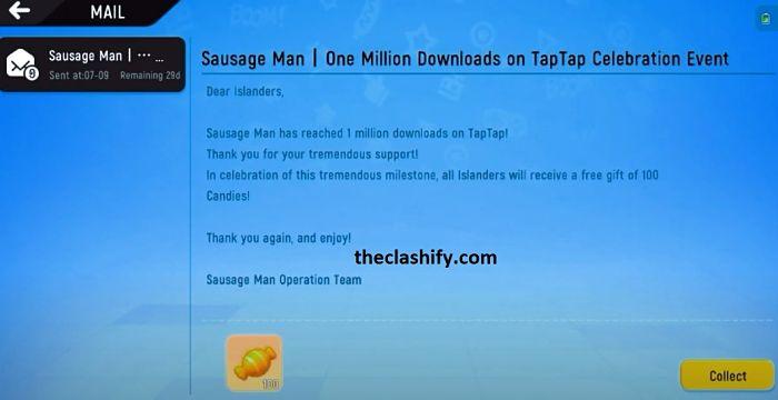 Sausage Man Free Candy