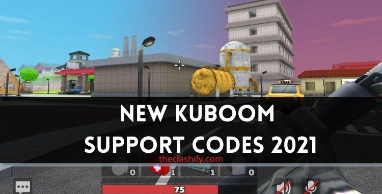 Kuboom Codes 2021 - ( New Kuboom Support Codes 2021 )