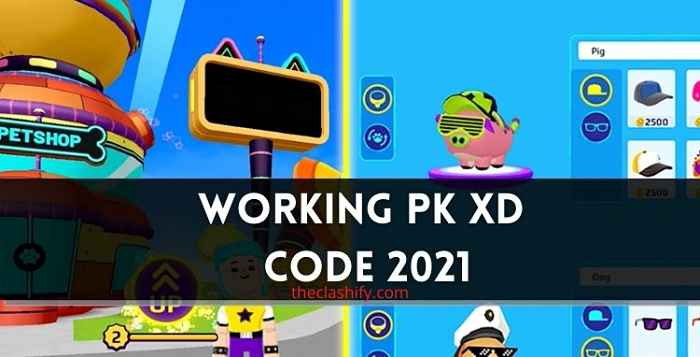 PK XD Code 2021