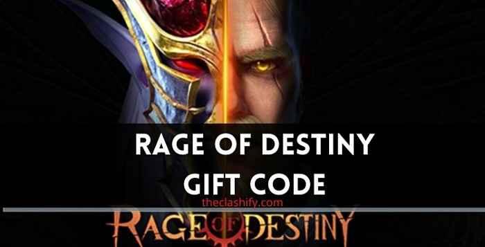 Rage of Destiny Codes 2021 ( Today Redeem Code )