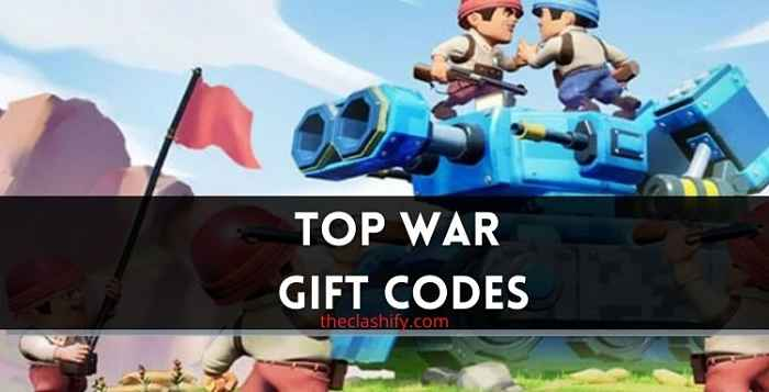 Top War Gift Codes 2021 August ( Today Codes )
