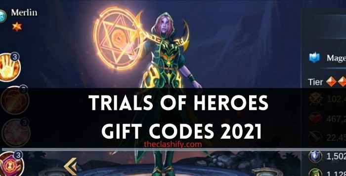 Trials of Heroes Gift Codes 2021