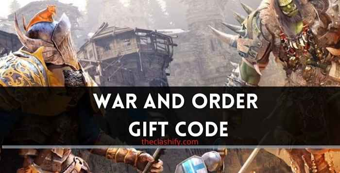 War and Order Gift Code 2021 July ( New Codes )