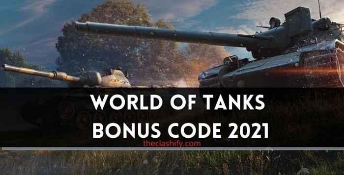 World of Tanks Blitz Bonus Code 2021 August