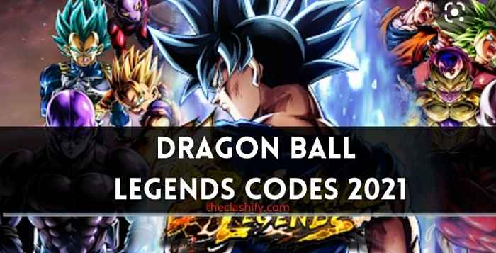 Dragon Ball Legends Codes 2021 August ( Today )