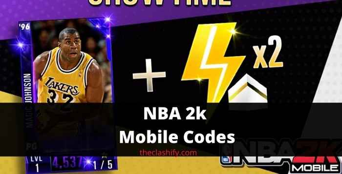 How to get NBA 2k Mobile Codes 2021