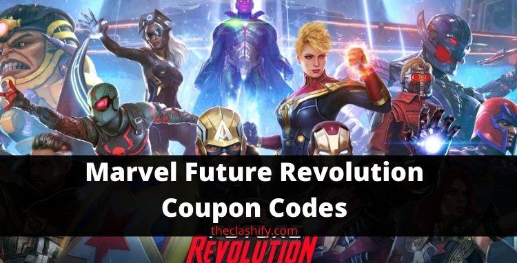 Marvel Future Fight Codes 2021