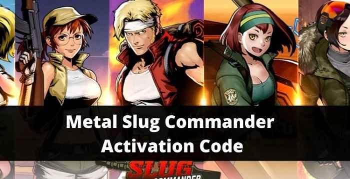 Metal Slug Commander Activation Code